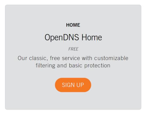 Free Home DNS Option image